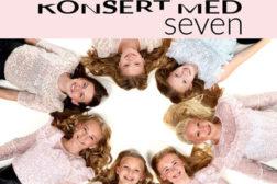 Konsert med SEVEN søndag 1.november 2020